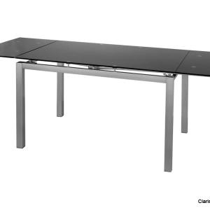 Dender asztal fekete